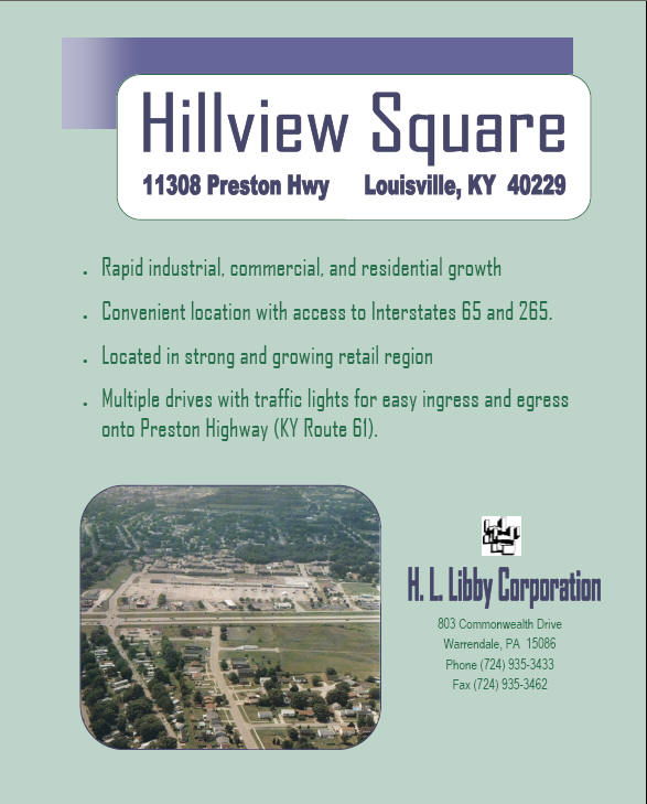 Click to view Hillview Square Brochure